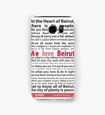 Beirut Manifesto - We Love Beirut Samsung Galaxy Case/Skin