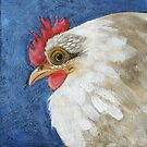 Henrietta Chicken Art by studiololo
