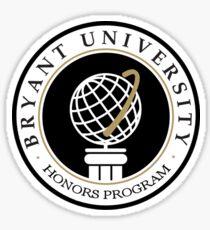 Bryant University Honors Program Sticker