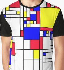 LARGE MONDRIAN Graphic T-Shirt