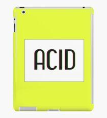 Acid Logotype iPad Case/Skin