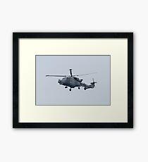 Royal Navy Lynx Helicopter Framed Print