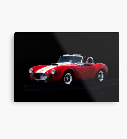 1966 Shelby Cobra 'Little Red' Roadster Metal Print