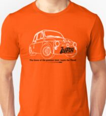 Lupin Central - Fiat 500 Plate T-Shirt