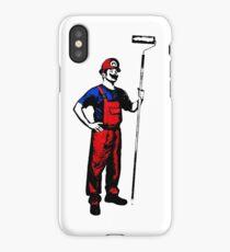 Mario Stencils iPhone Case