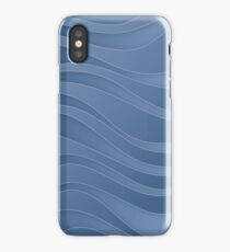Waves - water symbol, 4 elements iPhone Case
