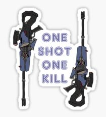 one kill Sticker