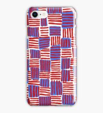 Red, White and Blue iPhone Case/Skin