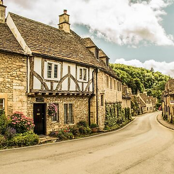 Castle Combe Village by anthonyhedger