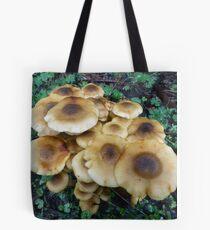 Fried egg fungi Tote Bag