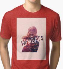 The Wombats Tri-blend T-Shirt