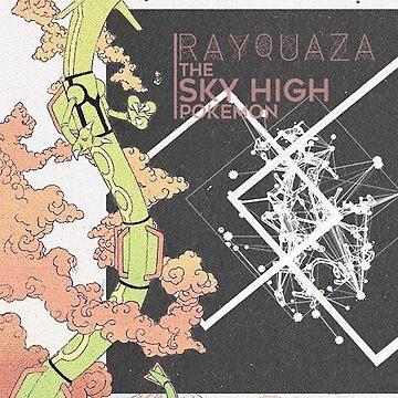 Rayquaza Edit by aquacarl