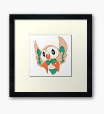 Rowlett Starter Owl Grass Framed Print