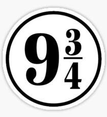 9 3/4 Sticker