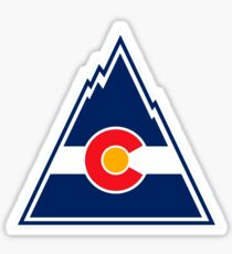 COLORADO ROCKIES HOCKEY RETRO Sticker