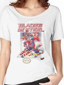 NES Blades of Steel  Women's Relaxed Fit T-Shirt