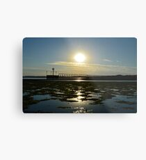 A Little Hampton Sunset Metal Print