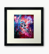 Lost in Space~  Framed Print