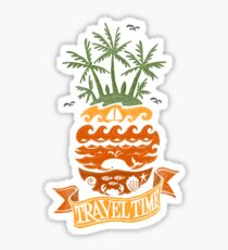 Travel Time Sticker