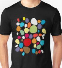 Circles patterns coloured  T-Shirt