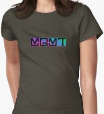 MGMT Psychedelic Logo  Womens Fitted T-Shirt
