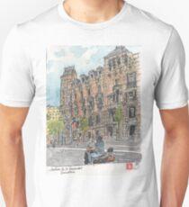 Jardins de la Univeristat, Barcelona Unisex T-Shirt