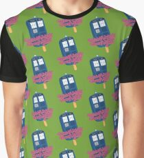 Wibbly Wobbly Timey Wimey Pop Graphic T-Shirt