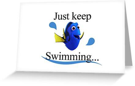 Dory finden - einfach weiter schwimmen von Temi Camilleri
