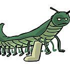 Broken Leg Caterpillar by FireAwayMarmot