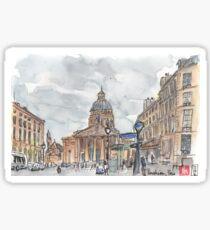 Paris Pantheon View Sticker