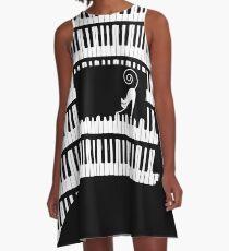 Piano A-Line Dress