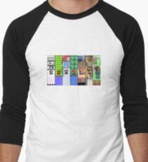 Pokemon Trainer Evolution Men's Baseball ¾ T-Shirt