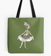 Matte Olivine Pearl Tote Bag