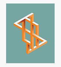 Escher Maze Photographic Print