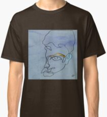 squigglehead with ochre eyebrow and cold ear - drawing Classic T-Shirt