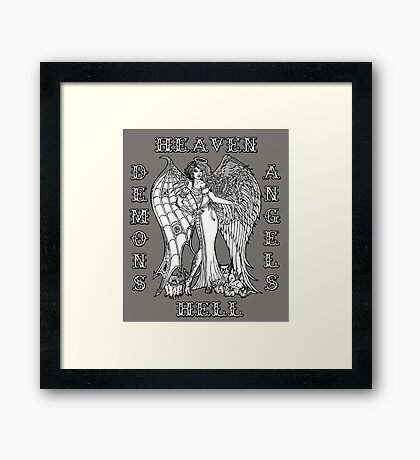 The Battle Within Framed Print
