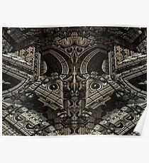 Gothic Steampunk Structure Poster