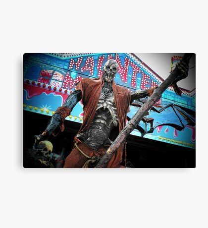 Nightmare under your bed... Canvas Print