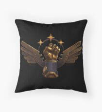 Steam Marines 2 - Logo (No Text) Throw Pillow