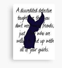 Detective, Detective Canvas Print
