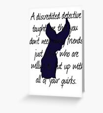 Detective, Detective Greeting Card