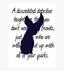 Detective, Detective Photographic Print