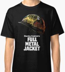 Stanley Kubrick's Full Metal Jacket | Black Classic T-Shirt