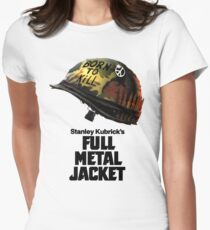 Stanley Kubrick's Full Metal Jacket Fitted T-Shirt