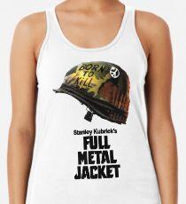 Stanley Kubrick's Full Metal Jacket Racerback Tank Top