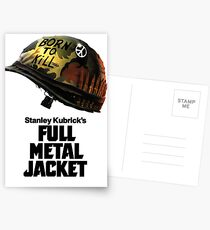 Stanley Kubricks Full Metal Jacket Postkarten