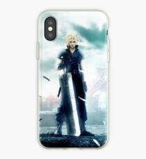 Vinilo o funda para iPhone Cloud Strife