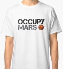 Occupy Mars - Weltraumplanet - SpaceX Classic T-Shirt