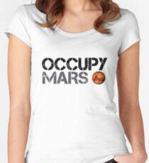 Camiseta entallada de cuello ancho Occupy Mars - Space Planet - SpaceX