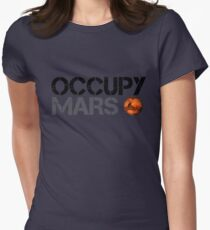 Occupy Mars - Space Planet - SpaceX T-Shirt